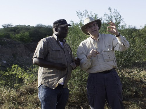 Grossular Garnet at the Mine