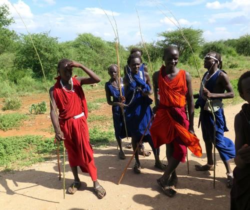 Africa Maasai boys