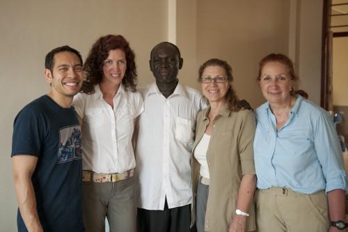 Ernest Rodriguez, Monica Stephenson, June Stahl, Danuta Kuc