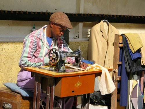 Arusha Craftsmen making clothes