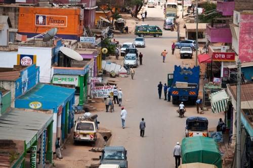 Voi Street Scene