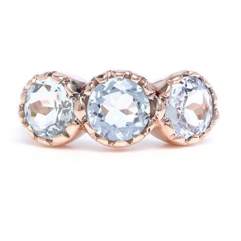 Arik Kastan Three Stone Ring