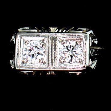 Alexandria Rossoff Estate Engagement Ring
