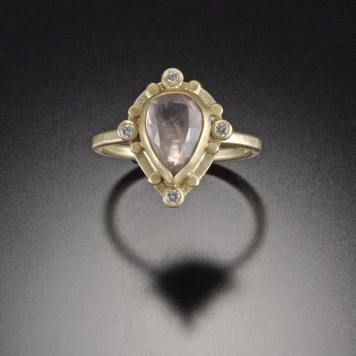 Ananda Khalsa engagement ring