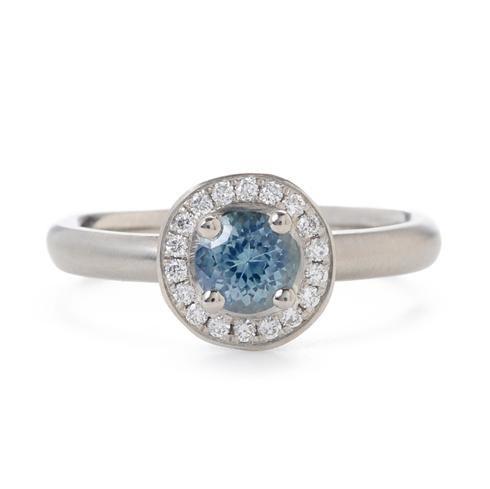 Anne Sportun Sapphire Engagement Ring