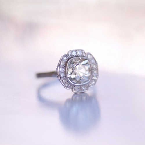 Engagement Ring Trends: A New Setting for Old Diamonds, Erika Winters Bridal Jewelry