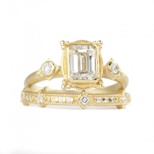 Megan Thorne Avilan Diamond Ring
