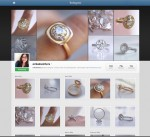WJA Social Media Instagram 150x137 #idazzledesires: Erika Winters Thea Engagement Ring