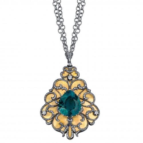 Arman Sarkisyan Indicolite pendant