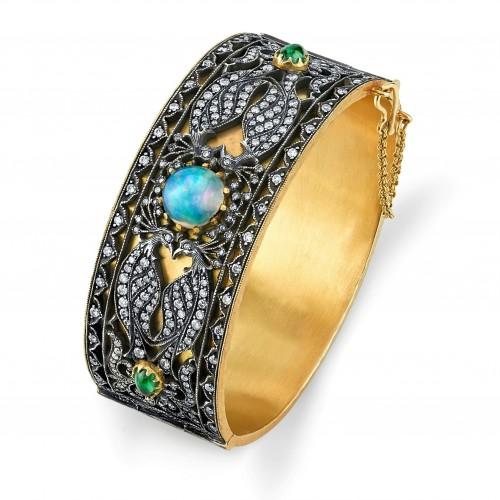 Arman Sarkisyan peacock cuff