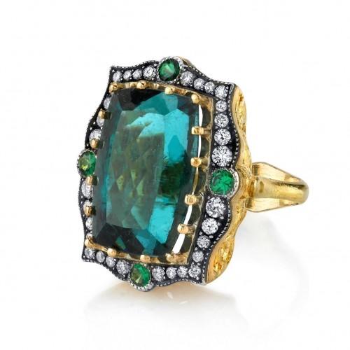 Arman Sarkisyan Indicolite Ring