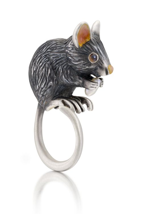 Manya and Roumen Mouse Ring