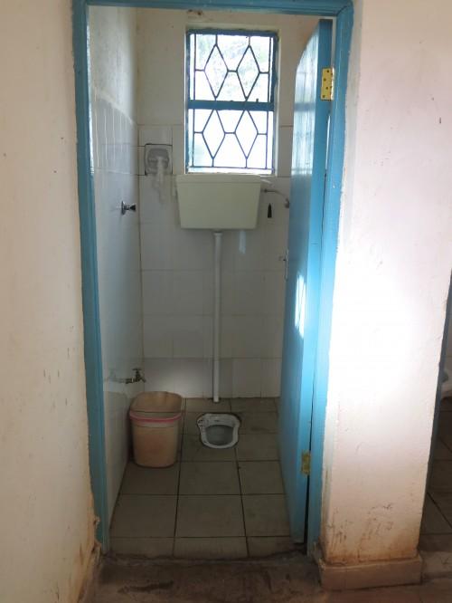 Kenyan toilet