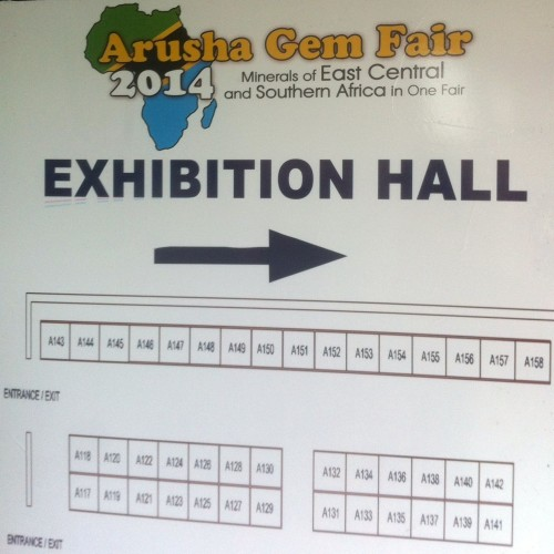 Arusha Gem Fair Exhibition