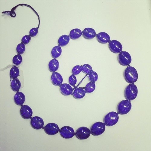 Tanzanite necklace by Robert Bentley