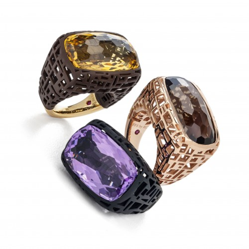 Roberto Coin the Fifth Season collection rings