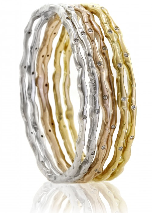 Diamonds With A Story Sandy Leong Bangles