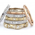 Engagement and Commitment Ring Trends: Erika Winters Fidelia Wedding Bands