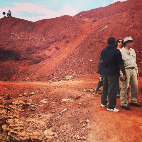 Kenyan gemstone mine