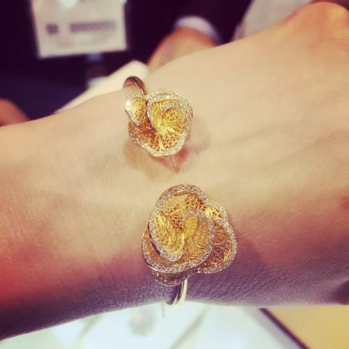 Eleuterio filigree bracelet