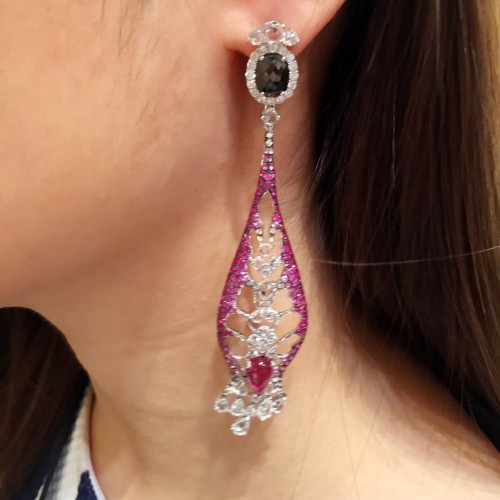 Wendy Yue Jewellery earrings