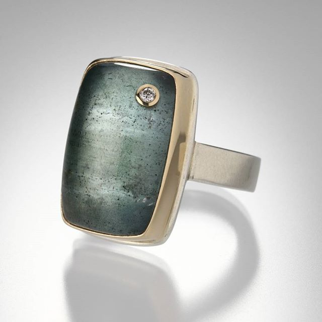 Jamie Joseph Aquamarine Ring