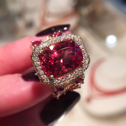 Erica Courtney Spinel Ring