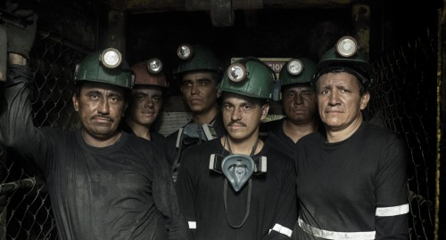 Muzo emerald mine workers