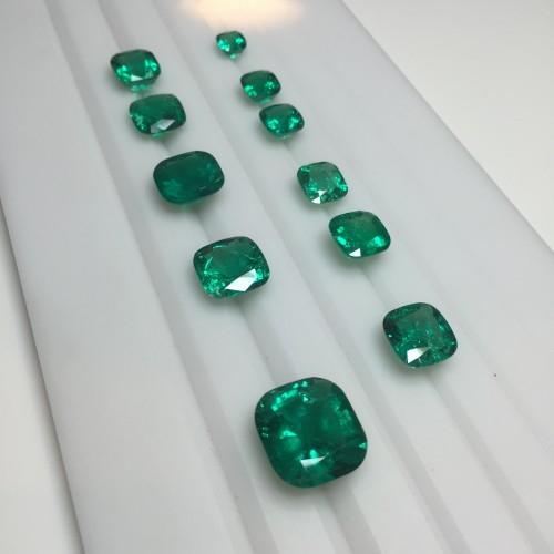 Muzo emeralds at Robert Procop
