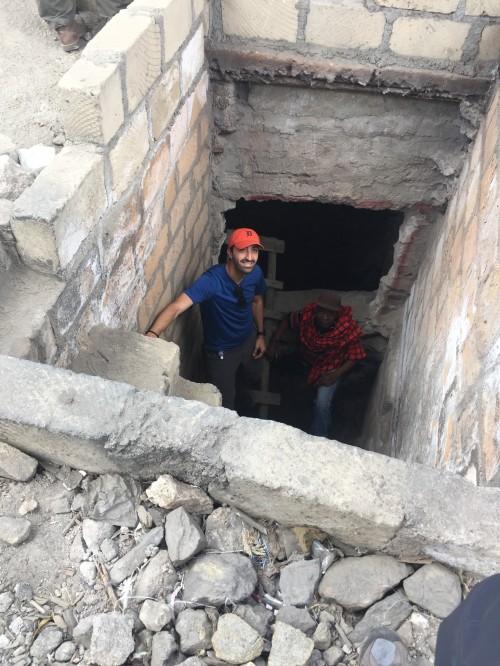 Eric Chopjian Africa mine