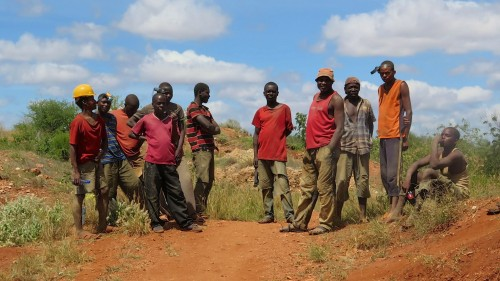 Miners, East Africa, Sharing the Rough